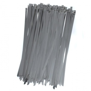 Stainless steel cable ties 260x7,9mm (100pcs.)