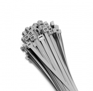 Cable ties 300x3,6mm SILVER (100 pcs.)