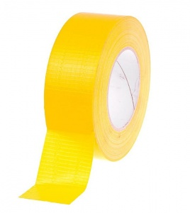 Yellow technical duct tape 50m/50mm