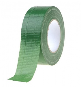 Green technical duct tape 50m/50mm