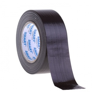 Black Smart technical duct tape 50m/50mm