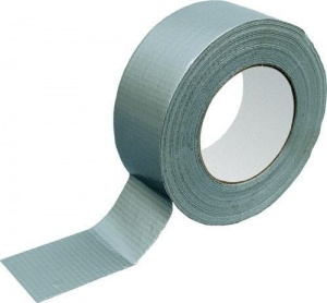 Silver technical duct tape 50m/50mm