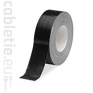 Black technical duct tape 50m/50mm